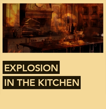Escape Room Explosion In The Kitchen Jakarta By Hunt Quest Adviser